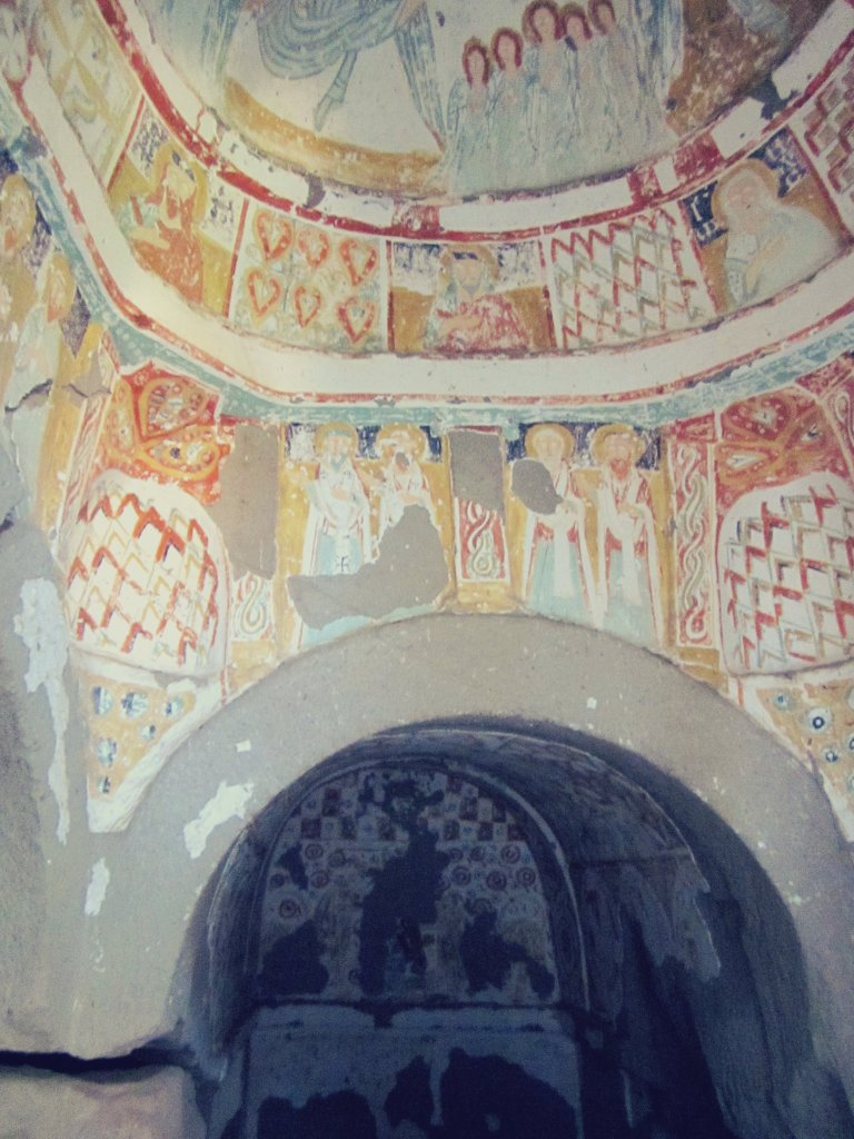 Fresco at ancient church